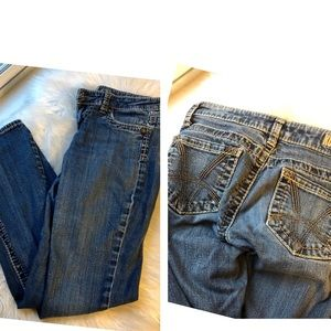 Kut from the Kloth size 0 bootcut stitched jeans